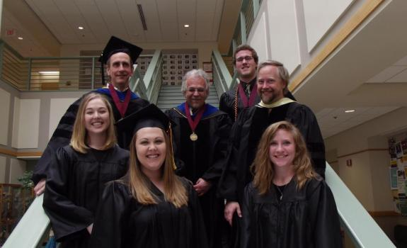 Statistics Graduates and Faculty, May 14, 2016