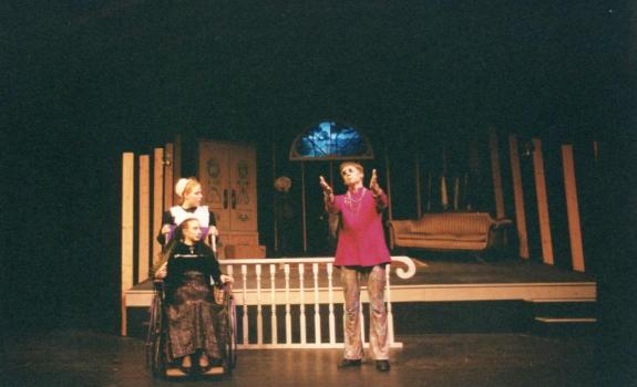 Actors on a stage