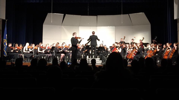 Crookston High School (side-by-side with the CHS Concert Orchestra), Crookston, MN