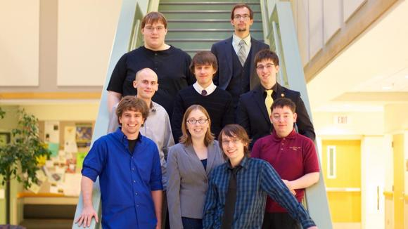 Presenters at the Fall, 2012, University of Minnesota, Morris, Computer Science conference